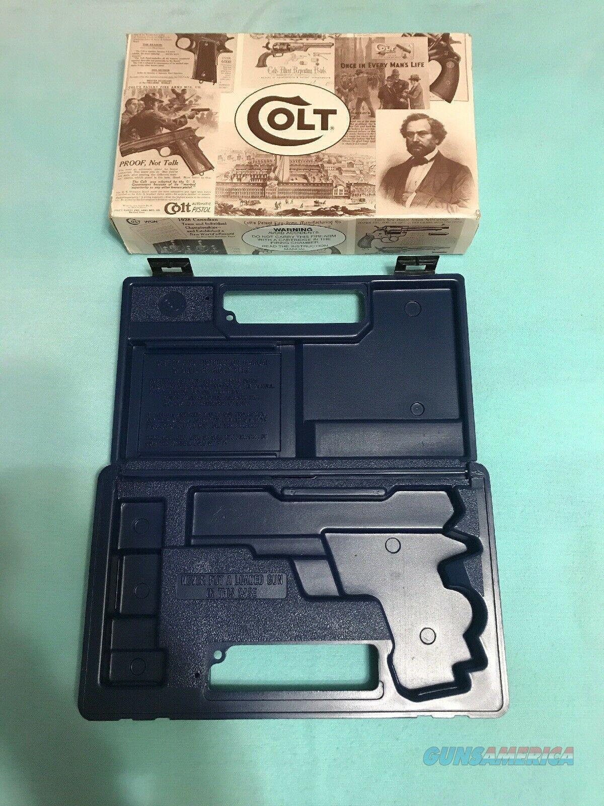 Colt Combat Elite Original Box  Non-Guns > Gun Cases