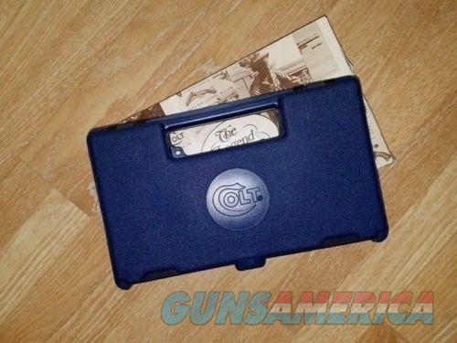 Colt 45 ACP Combat Commander Blue Gun Case/Box New   Non-Guns > Gun Cases