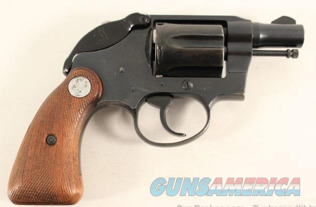 Colt Detective Special with Shroud 1920  Guns > Pistols > Colt Double Action Revolvers- Pre-1945