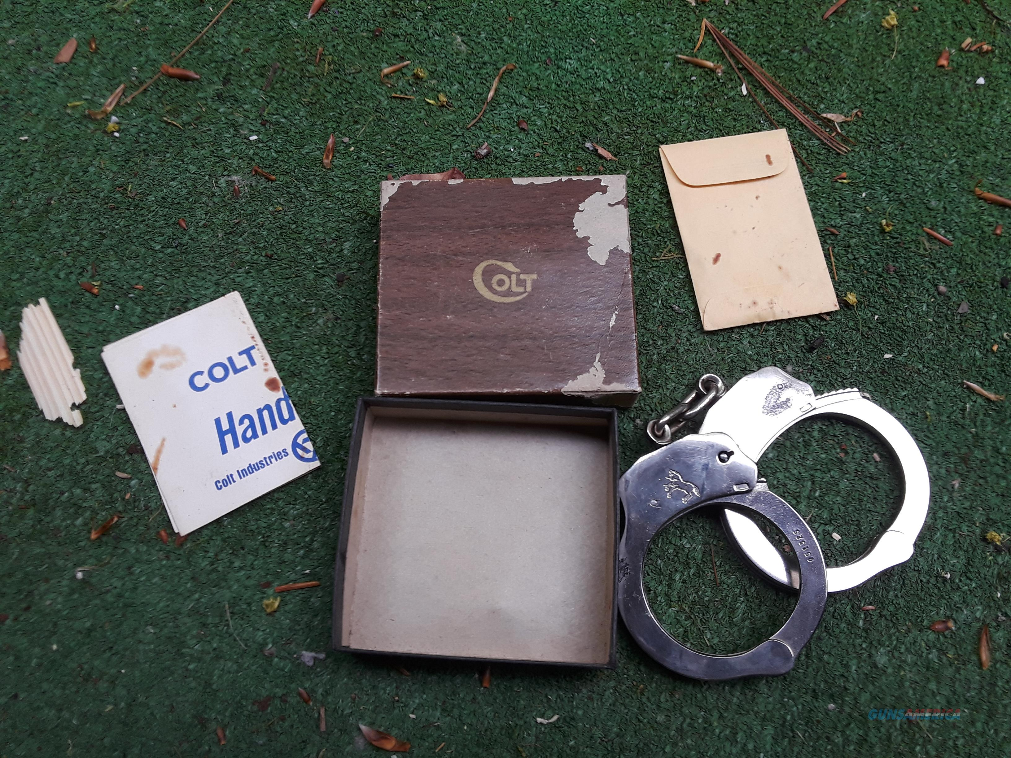 Colt Handcuffs with Box  Non-Guns > Logo & Clothing Merchandise