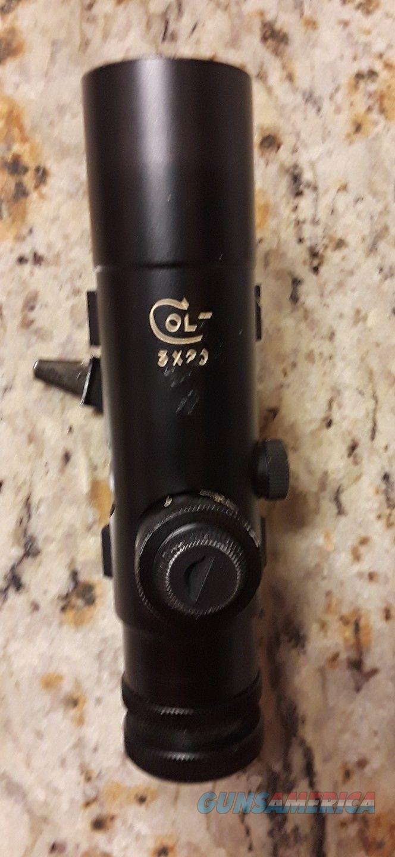 Colt AR15 3x20 Handle Scope  Non-Guns > Scopes/Mounts/Rings & Optics > Rifle Scopes > Variable Focal Length