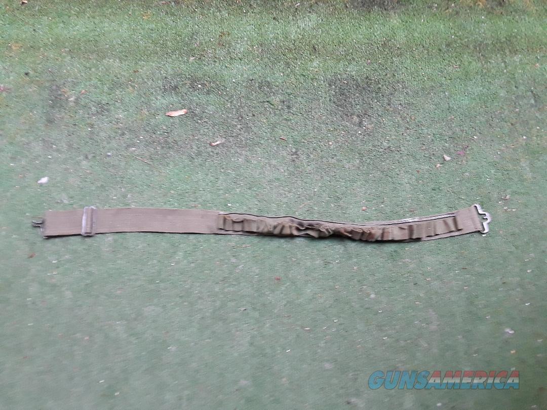 Japanese Medium Canvas Ammo Belt  Non-Guns > Gun Parts > Military - Foreign