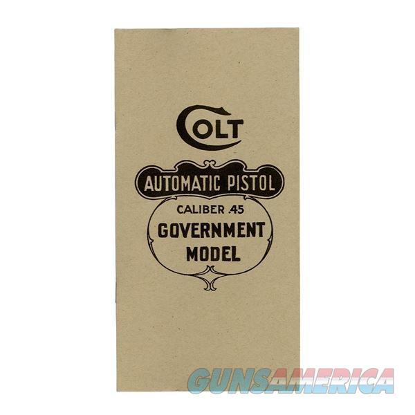 Colt 1911 .45 Government Model Manual  Non-Guns > Manuals - Print