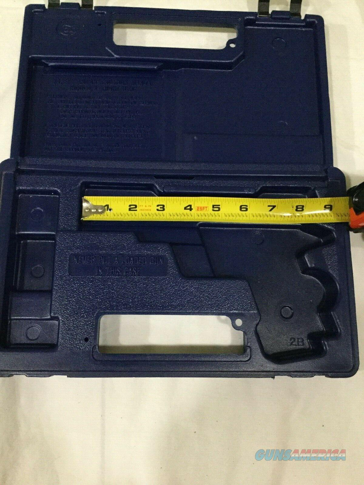 Colt Small Blue Plastic Gun Case  Non-Guns > Gun Cases