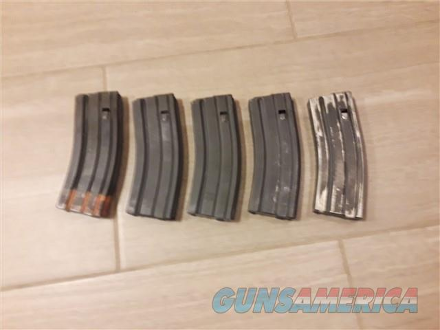 AR-15 30rd Magazines Lot of 5 AR15  Non-Guns > Magazines & Clips > Rifle Magazines > AR-15 Type
