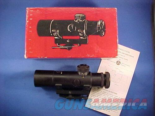 Colt 3x20 Scope Made in USA Original Colt Red Box Circa Late Vietnam War Era  Non-Guns > Scopes/Mounts/Rings & Optics > Rifle Scopes > Variable Focal Length