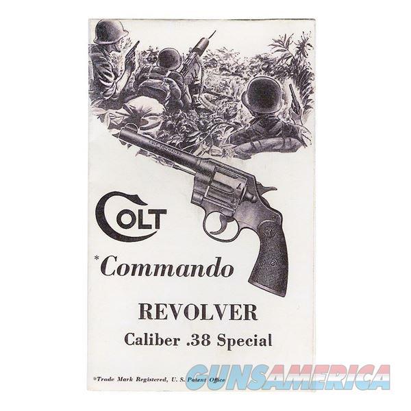Colt Commando Revolver .38 Special Manual  Non-Guns > Manuals - Print