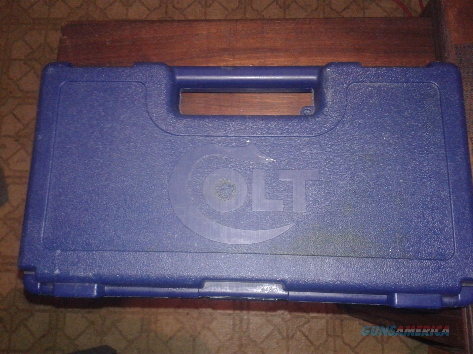 Colt Original Case fits Anaconda, Python Revolvers Colt Fireams  Non-Guns > Gun Cases