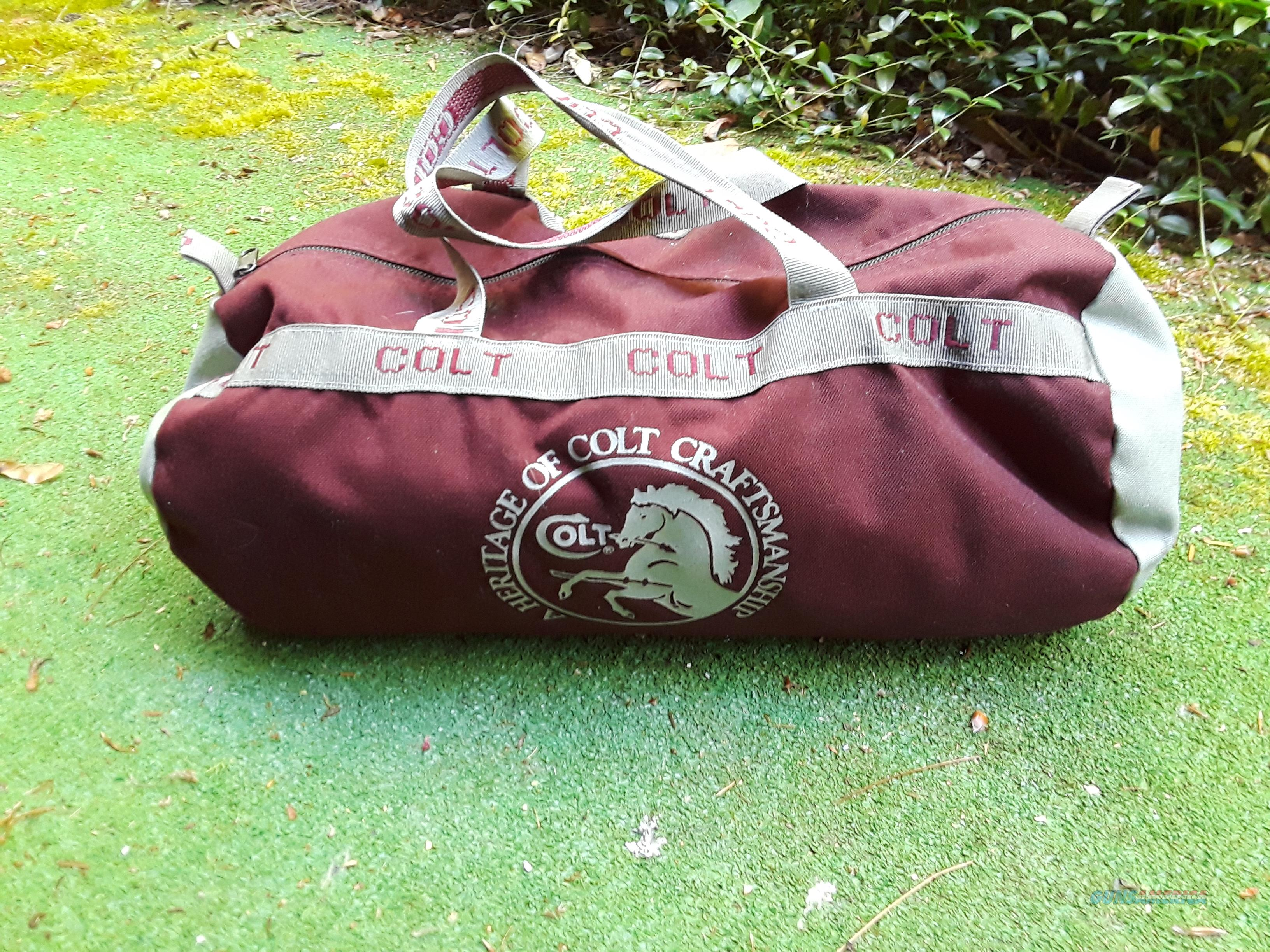 Colt Firearms Duffle Bag 1987  Non-Guns > Logo & Clothing Merchandise