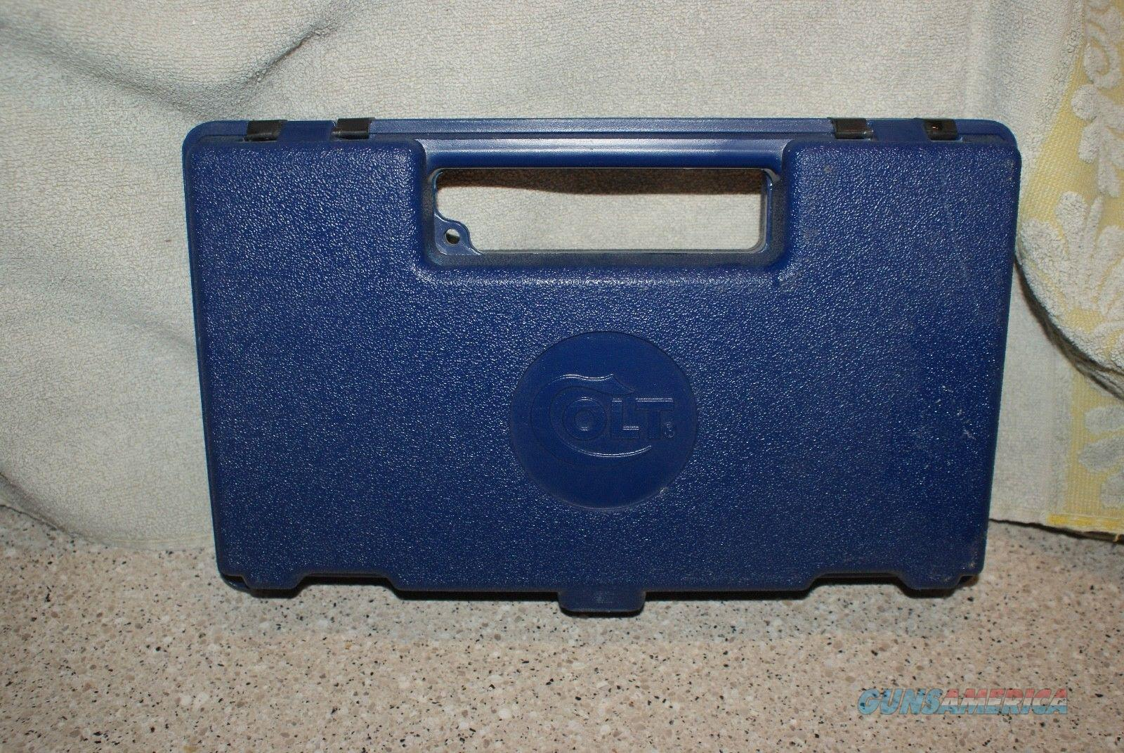 Colt Blue Case   Non-Guns > Gun Cases