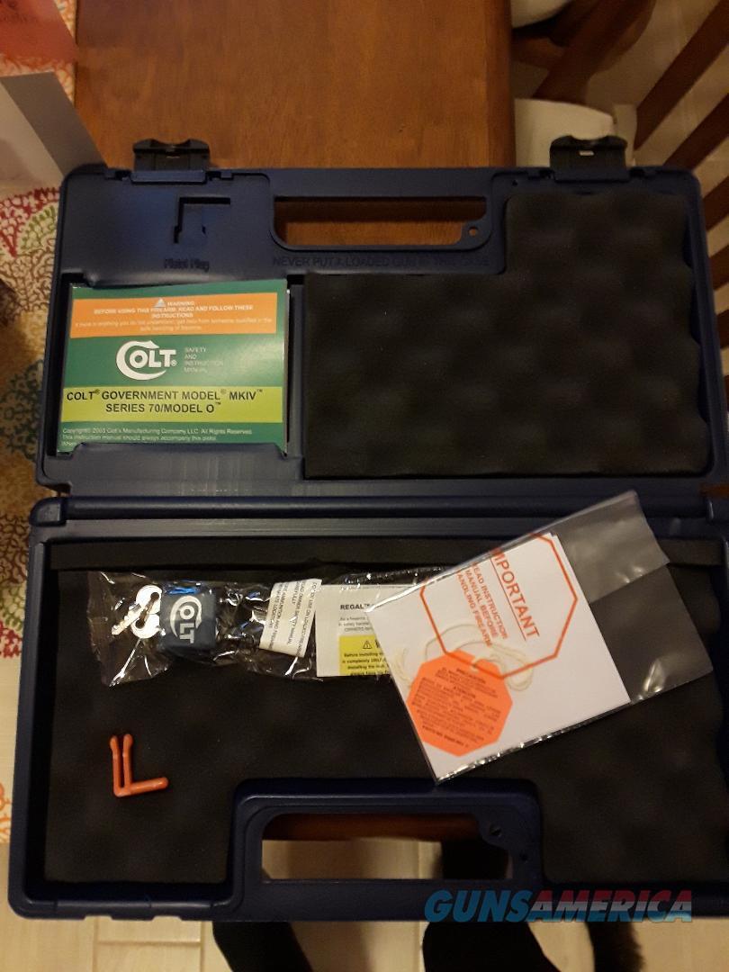 Colt Series 70 Manual Lock & Gun Case  Non-Guns > Gun Cases