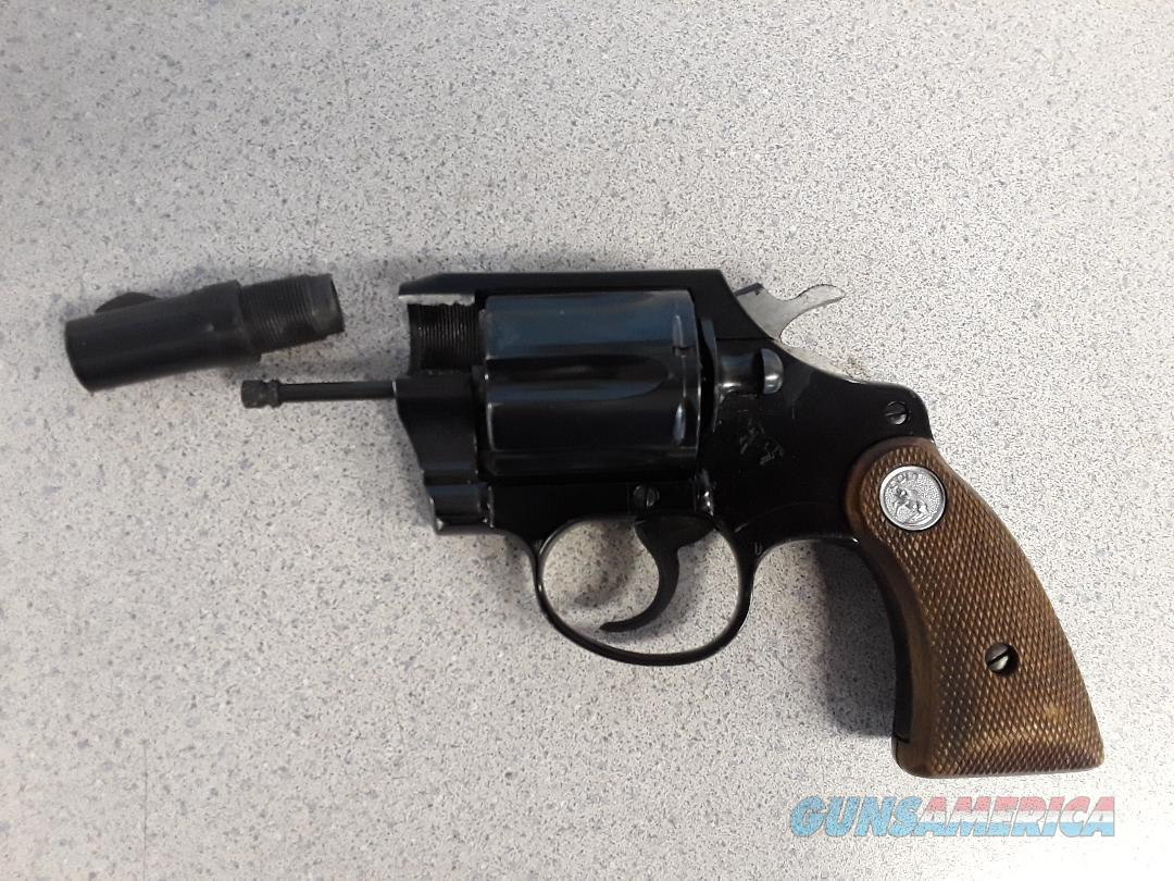 Colt Agent for Parts 1968  Guns > Pistols > Colt Double Action Revolvers- Modern