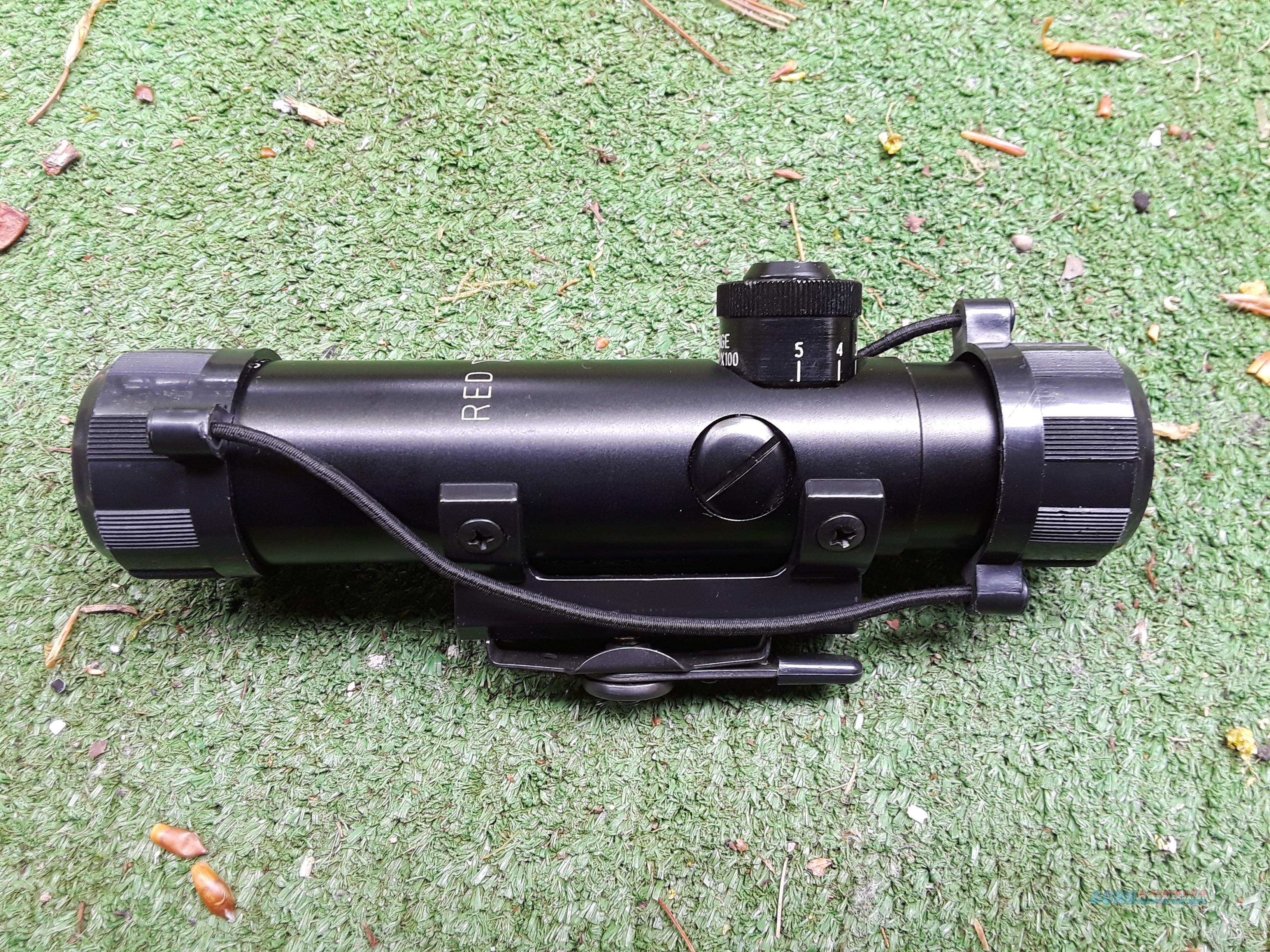 Red Star AR-15 Handle Scope with Lens Covers  Non-Guns > Scopes/Mounts/Rings & Optics > Rifle Scopes > Variable Focal Length