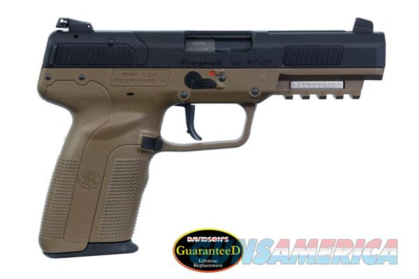 New FN 5.7 Five Seven with lifetime replacement warranty FDE & black  Guns > Pistols > FNH - Fabrique Nationale (FN) Pistols > FiveSeven