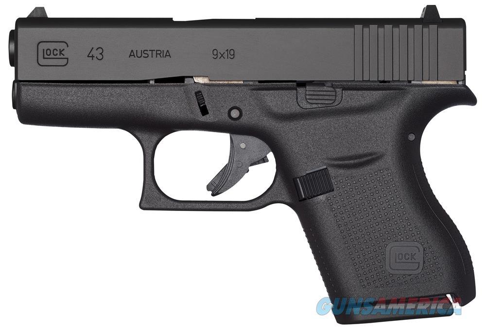 GLOCK 43 9MM PISTOL   Guns > Pistols > Glock Pistols > 43