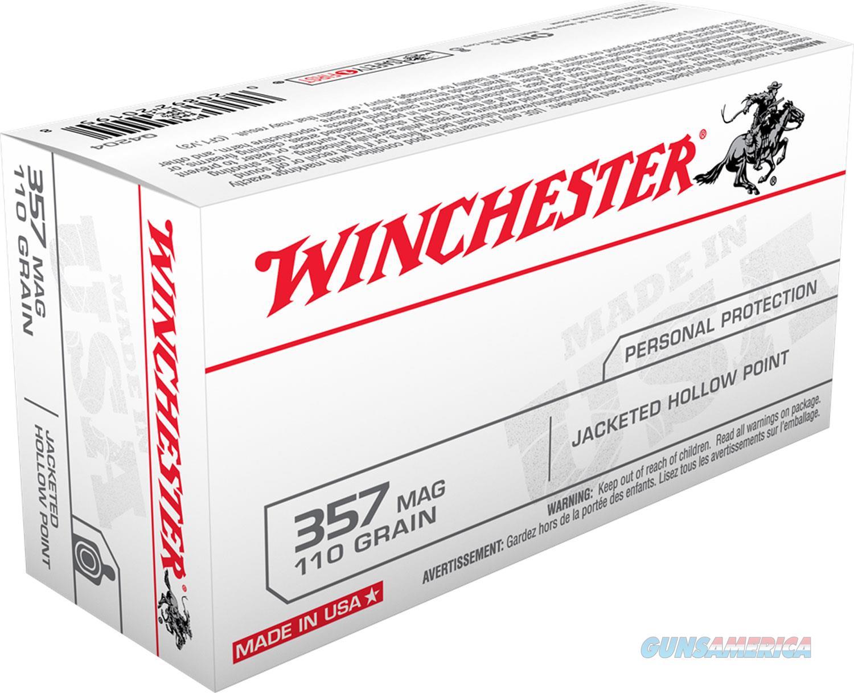WINCHESTER 357MAG 110GR JHP AMMO  Non-Guns > Ammunition