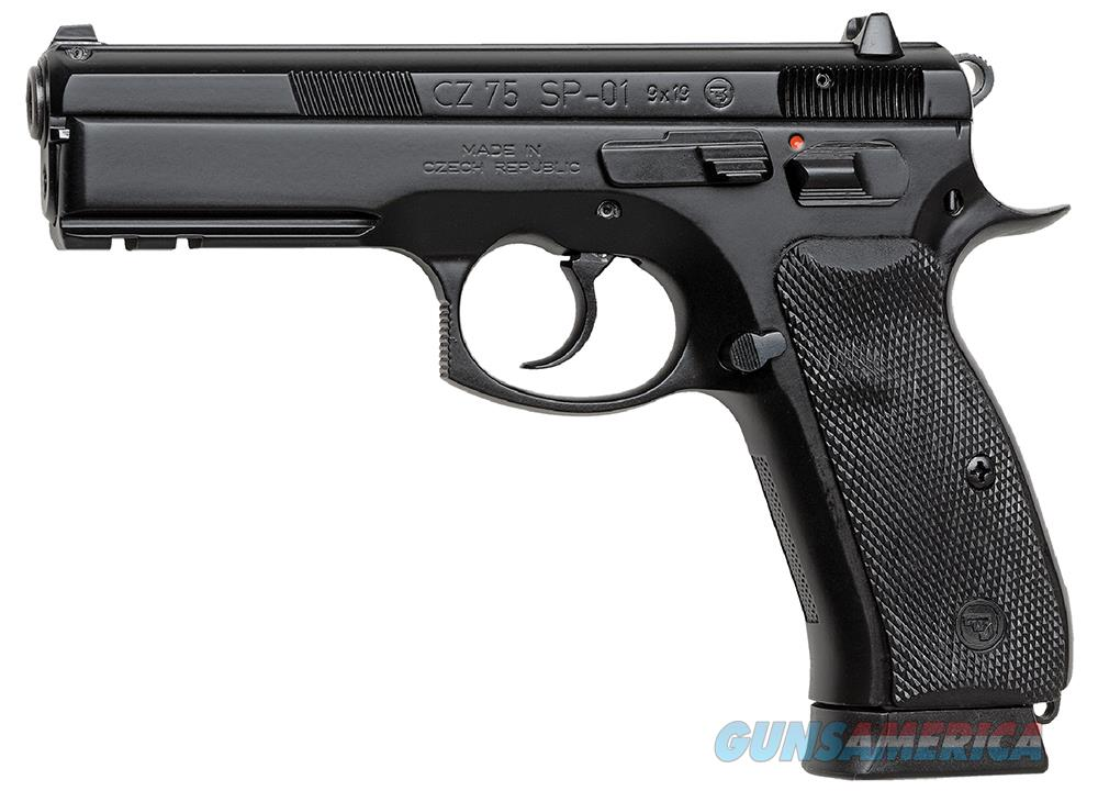 CZ 75 SP 01 9MM PISTOL 10RD MAGS  Guns > Pistols > CZ Pistols