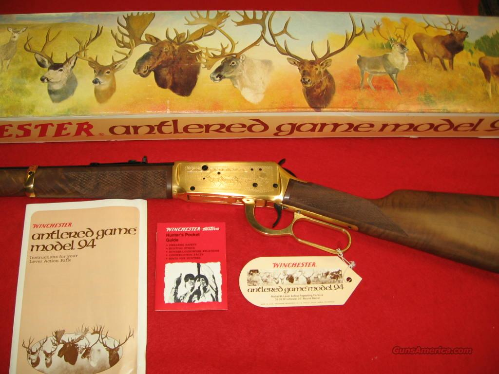 Winchester Antlered Game  Guns > Rifles > Winchester Rifle Commemoratives