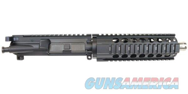 """BRAND NEW AR-15 COMPLETE PISTOL UPPER ASSEMBLY, 7.5"""" 416R STAINLESS STEEL BARREL, .223 WYLDE, PISTOL LENGTH GAS SYSTEM 1:7 TWIST W/ 7"""" FREE FLOATING QUAD RAIL  Non-Guns > Gun Parts > M16-AR15 > Upper Only"""