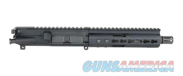 "BRAND NEW AR-15 COMPLETE PISTOL UPPER ASSEMBLY: 7.5"" 4150 PARKERIZED M4 CONTOUR BARREL, 5.56 NATO, PISTOL LENGTH GAS SYSTEM, 1:7 TWIST W/ 7"" LIGHTWEIGHT KEYMOD  Non-Guns > Gun Parts > M16-AR15 > Upper Only"