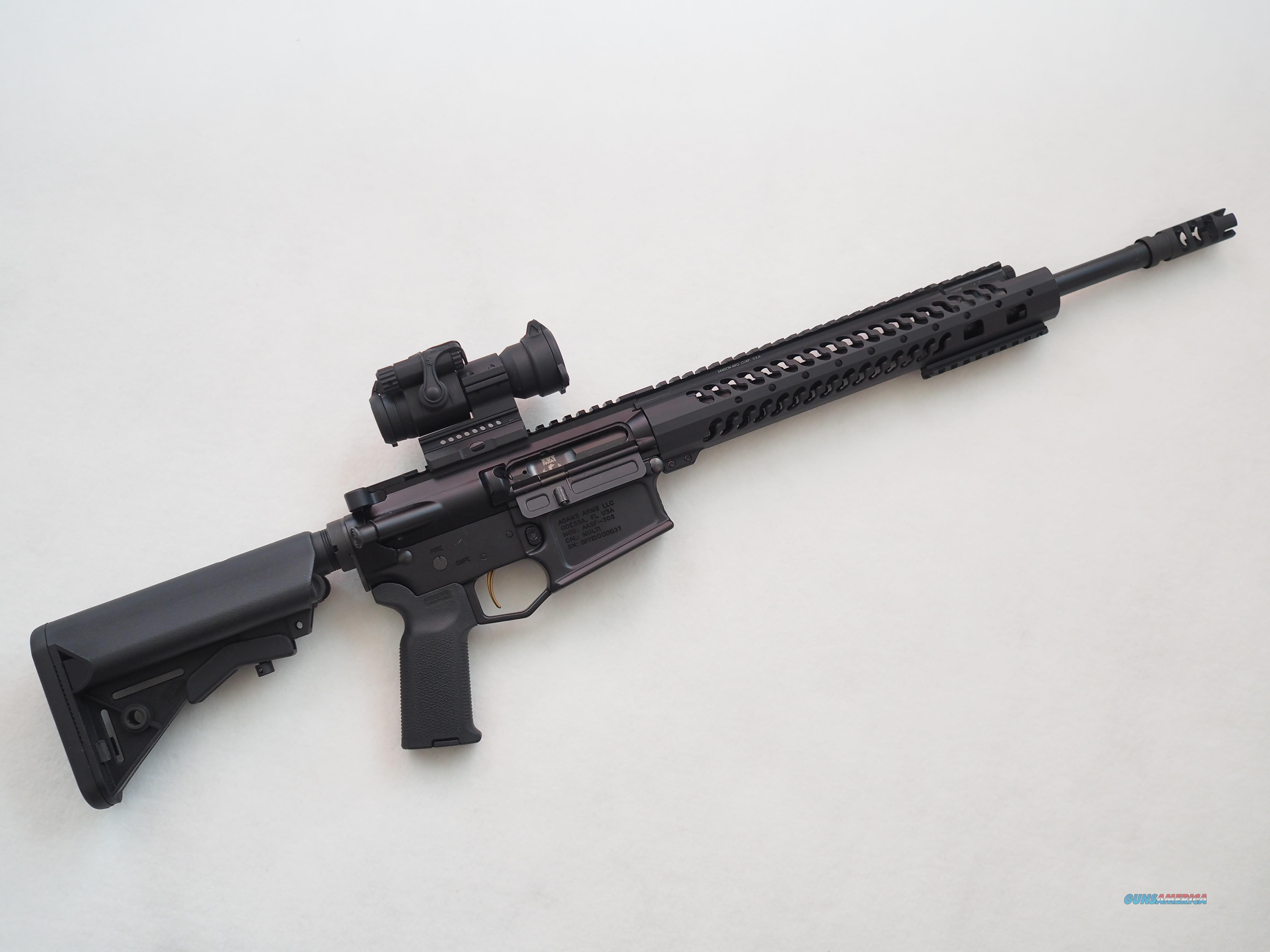 Adams Arms .308 Piston AR-10 TACTICAL PACKAGE  Guns > Rifles > AR-15 Rifles - Small Manufacturers > Complete Rifle