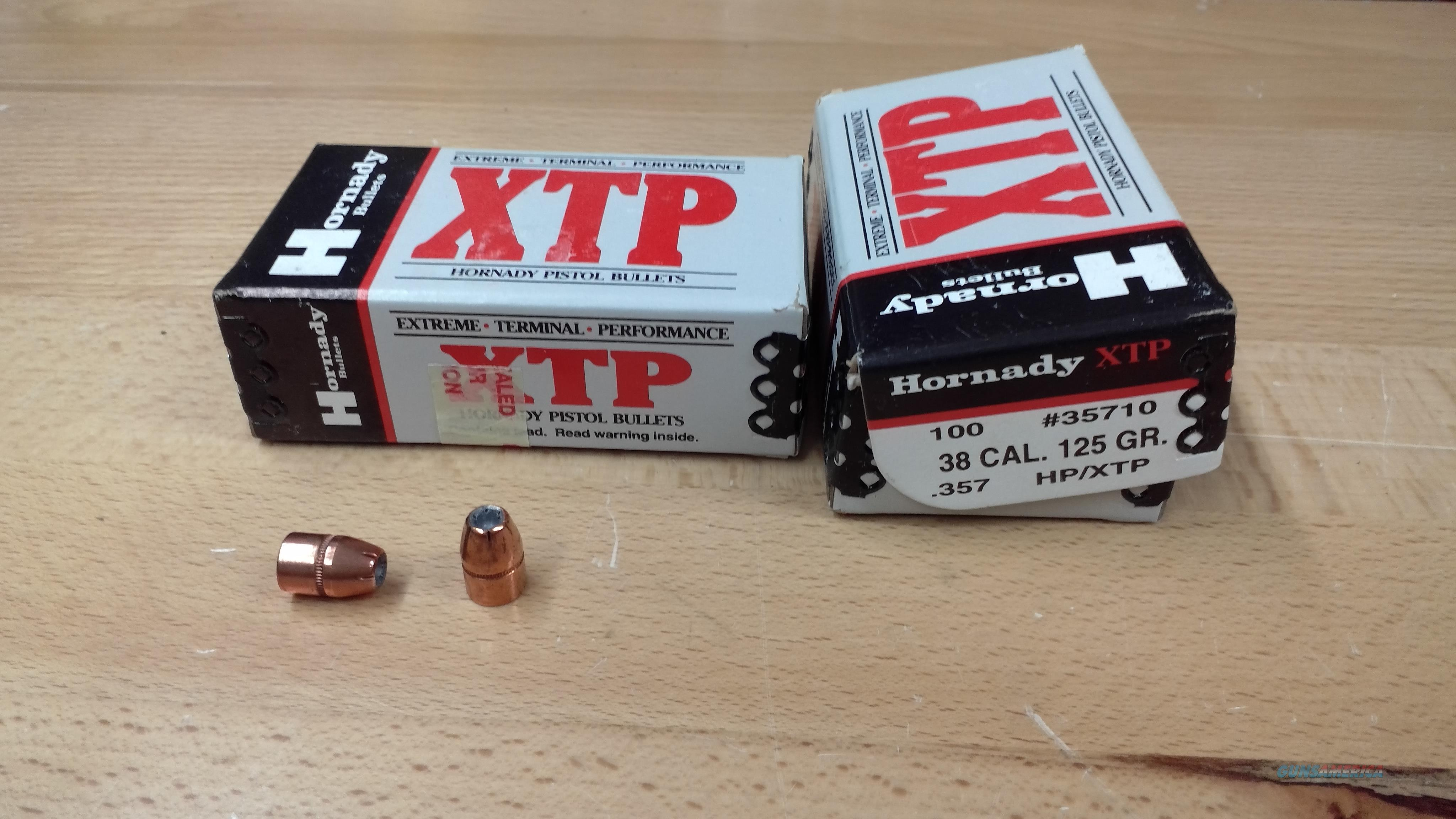 Hornady 38 cal XTP Projectiles  Non-Guns > Reloading > Components > Bullets