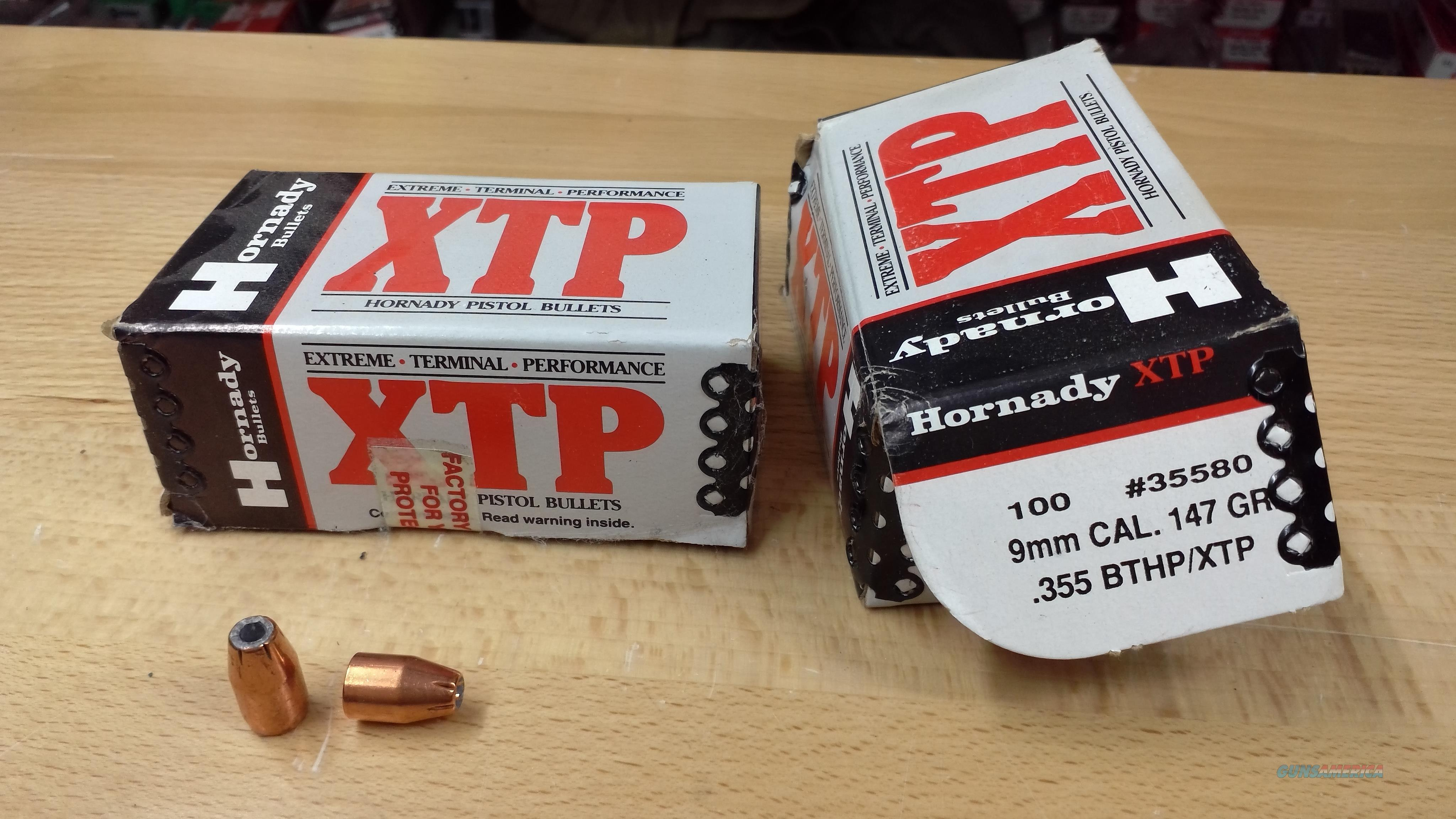 Hornady 9mm 146gn XTP Projectiles  Non-Guns > Reloading > Components > Bullets