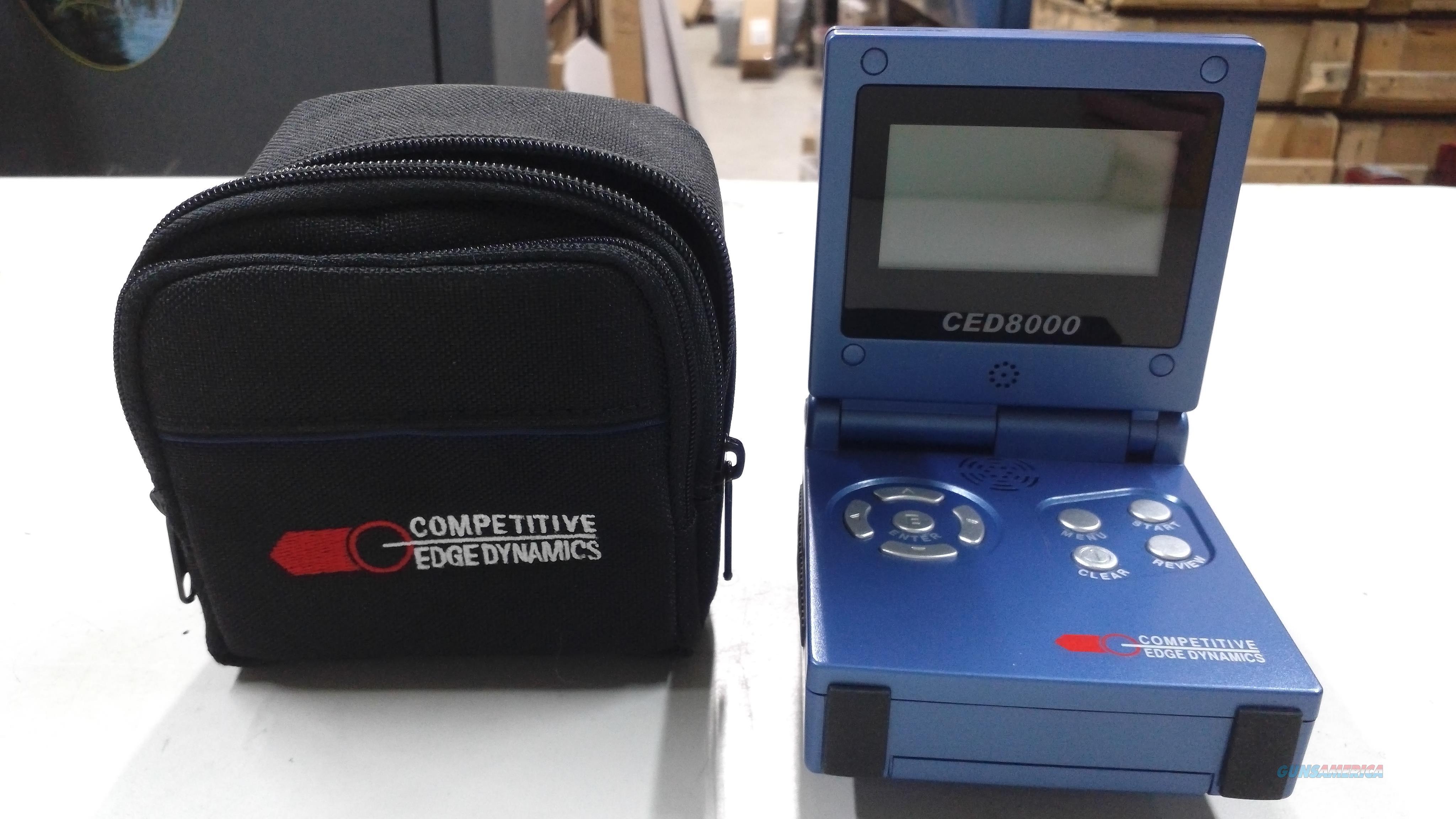 CED 8000 Shot Timer  Non-Guns > Electronics