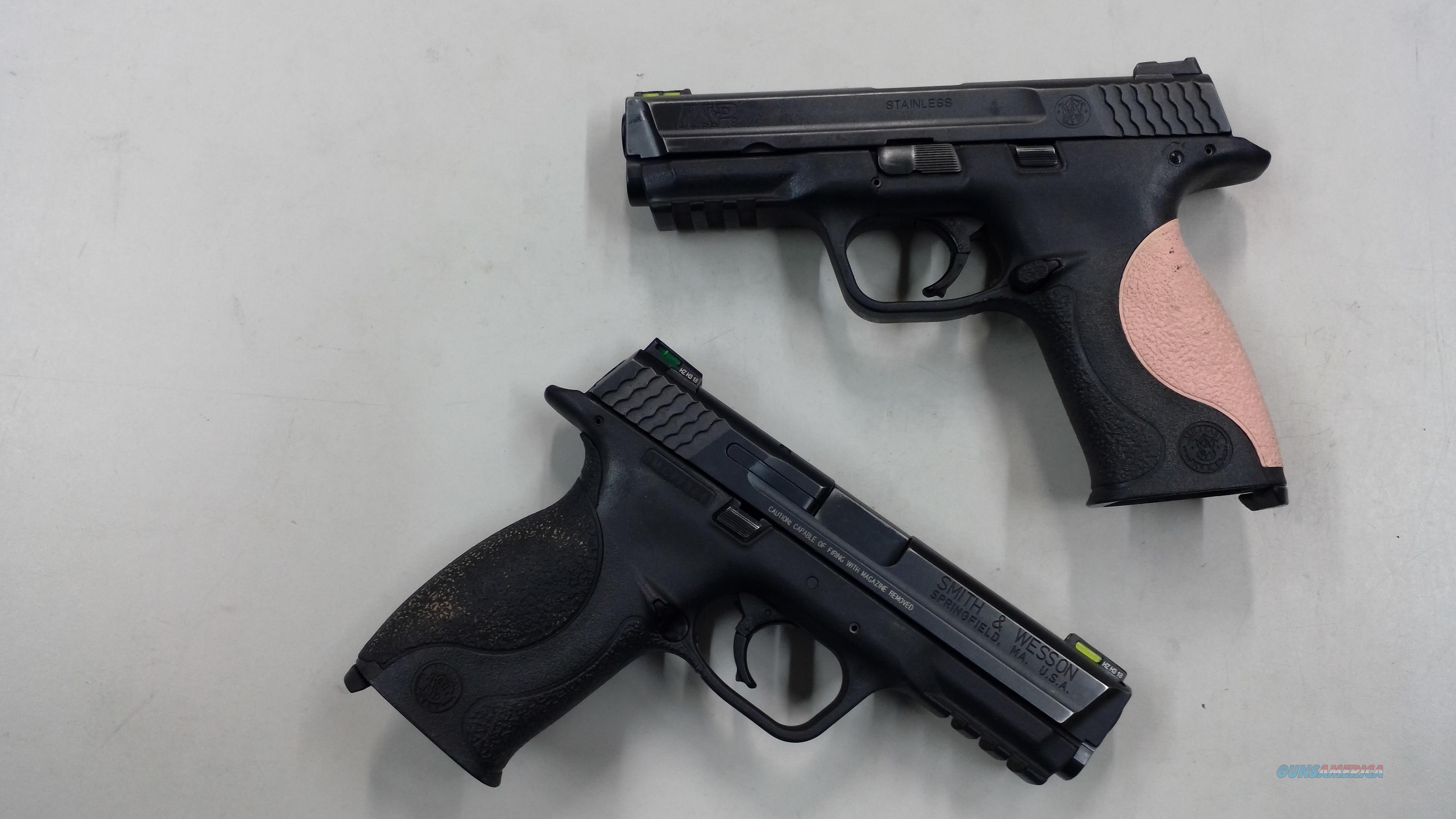 Smith & Wesson M&P 9mm  Guns > Pistols > Smith & Wesson Pistols - Autos > Polymer Frame