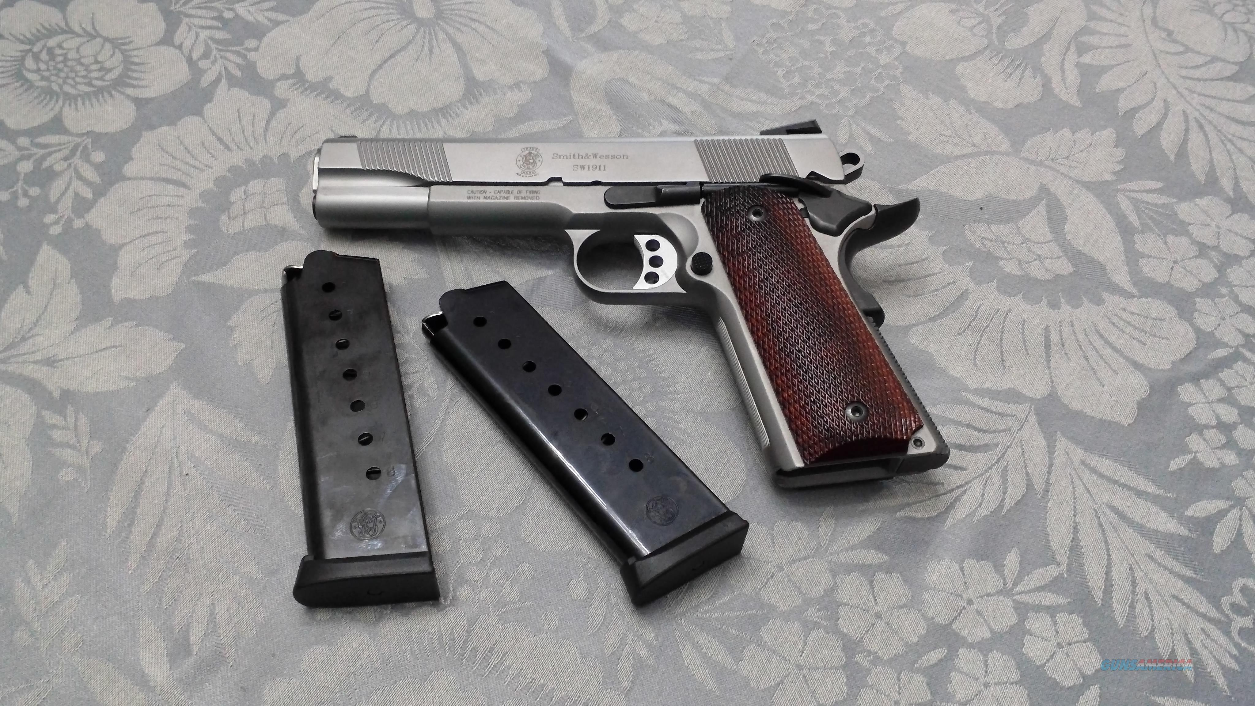 Smith & Wesson 1911  Guns > Pistols > Smith & Wesson Pistols - Autos > Steel Frame