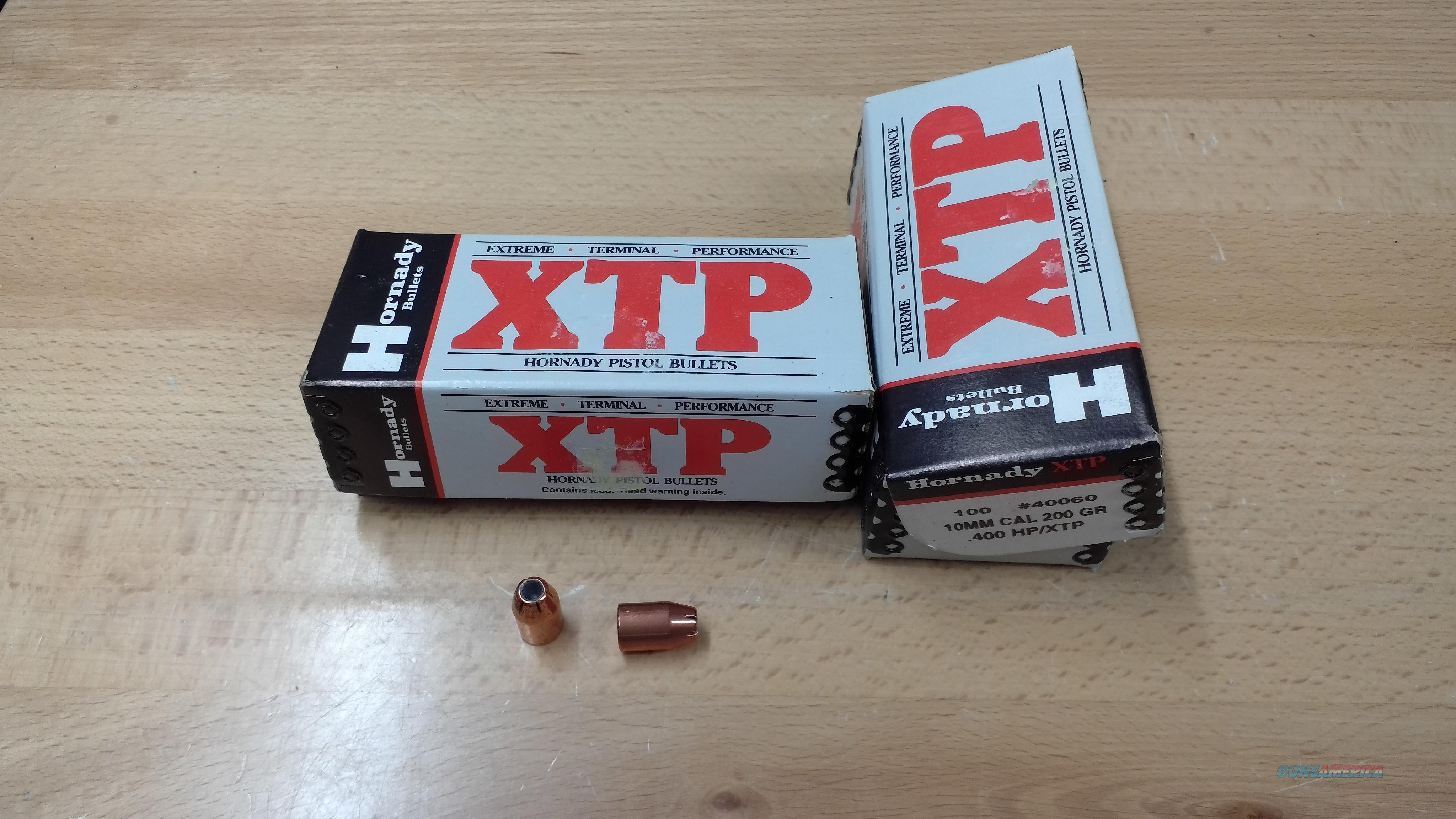 Hornady XTP 10mm Projectiles  Non-Guns > Reloading > Components > Bullets