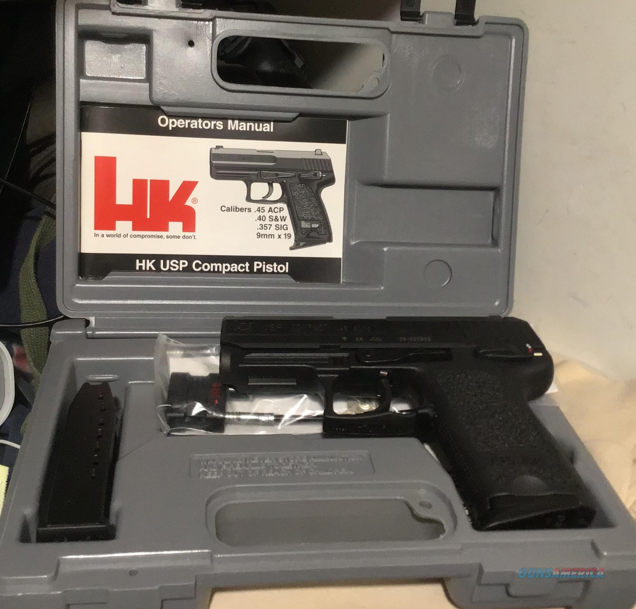 H&K USP Compact .45 Auto  Guns > Pistols > Heckler & Koch Pistols > Polymer Frame