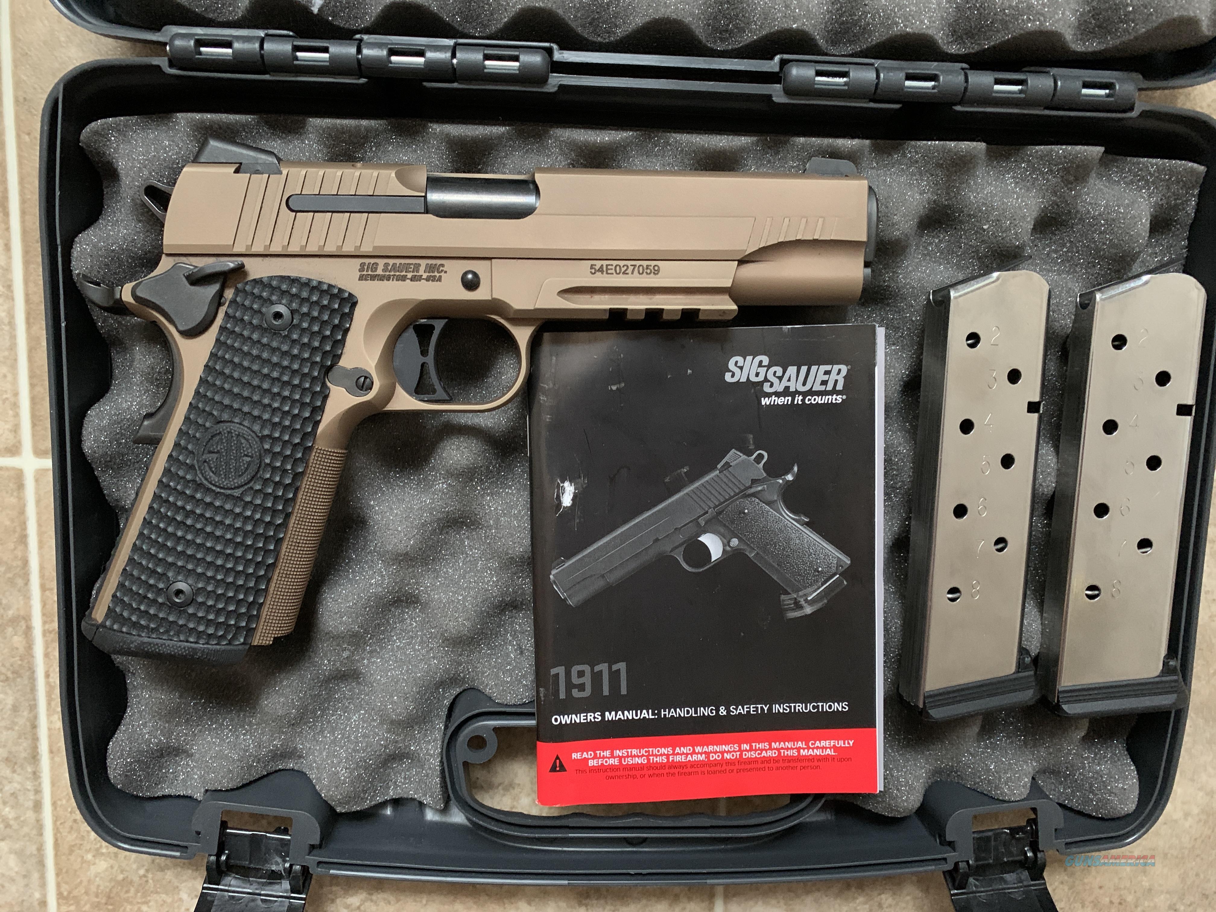 *LIKE NEW* Sig Sauer 1911 Emperor Scorpion   Guns > Pistols > 1911 Pistol Copies (non-Colt)