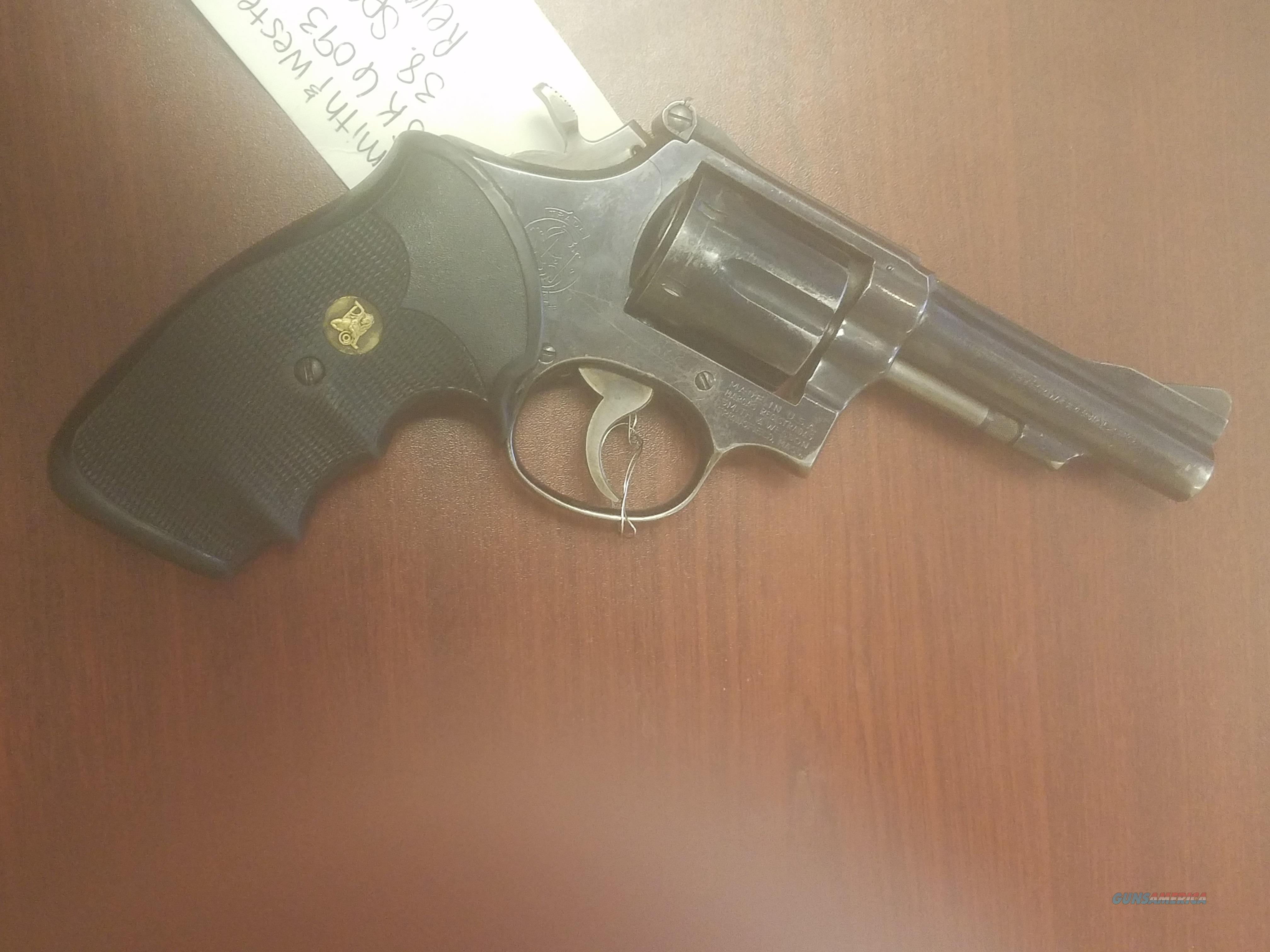 Smith Wesson Model 15-3 .38 Special  Guns > Pistols > Smith & Wesson Revolvers > Med. Frame ( K/L )