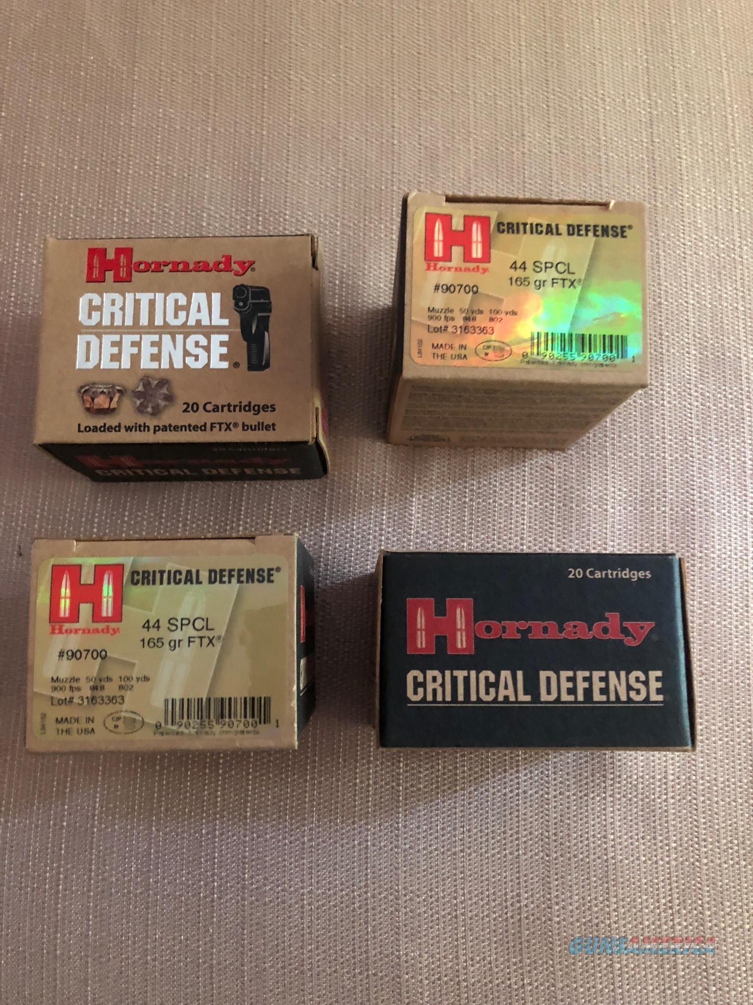 Hornady .44 Special   Non-Guns > Ammunition
