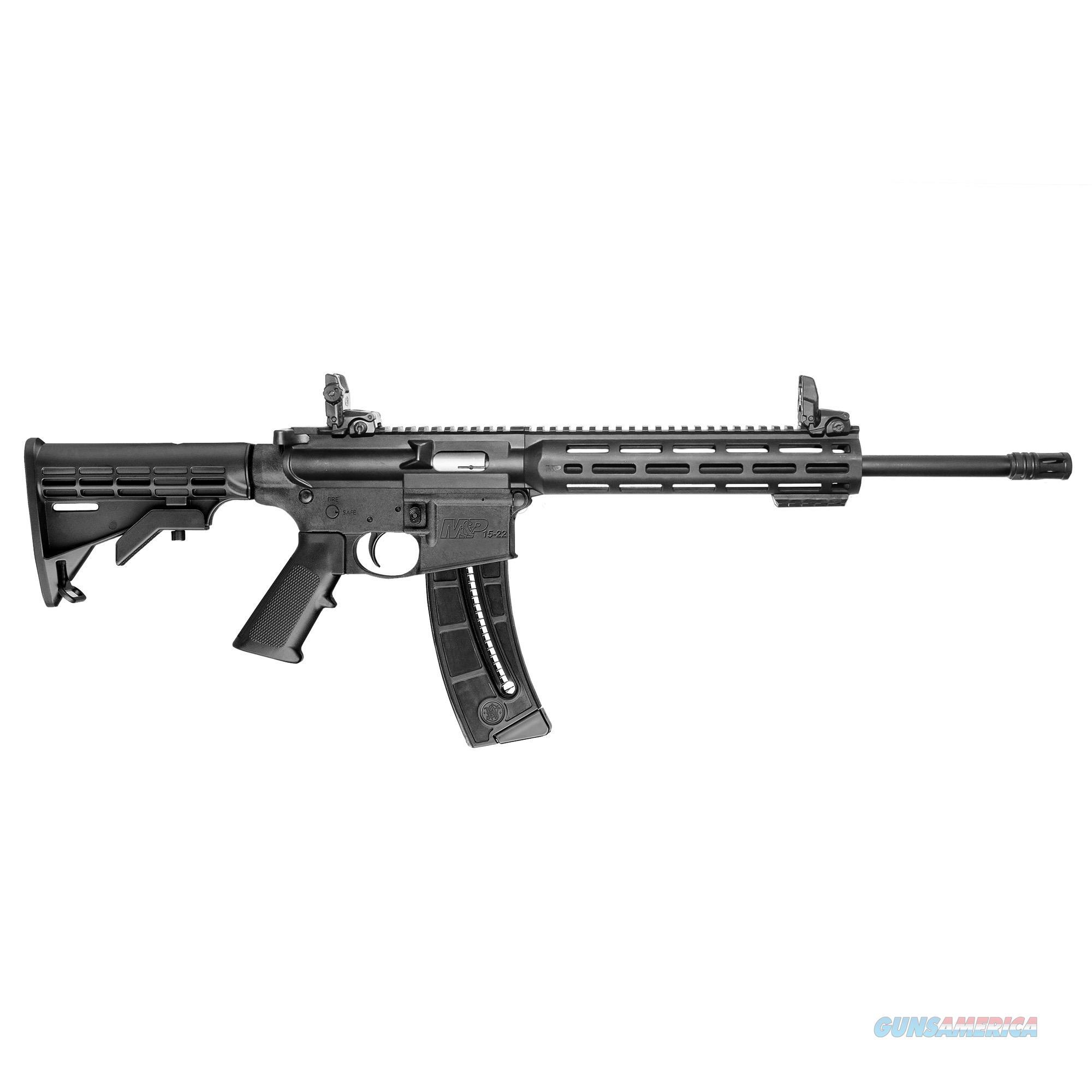 NIB Smith & Wesson M&P15-22 M-LOK  Guns > Rifles > Smith & Wesson Rifles > M&P