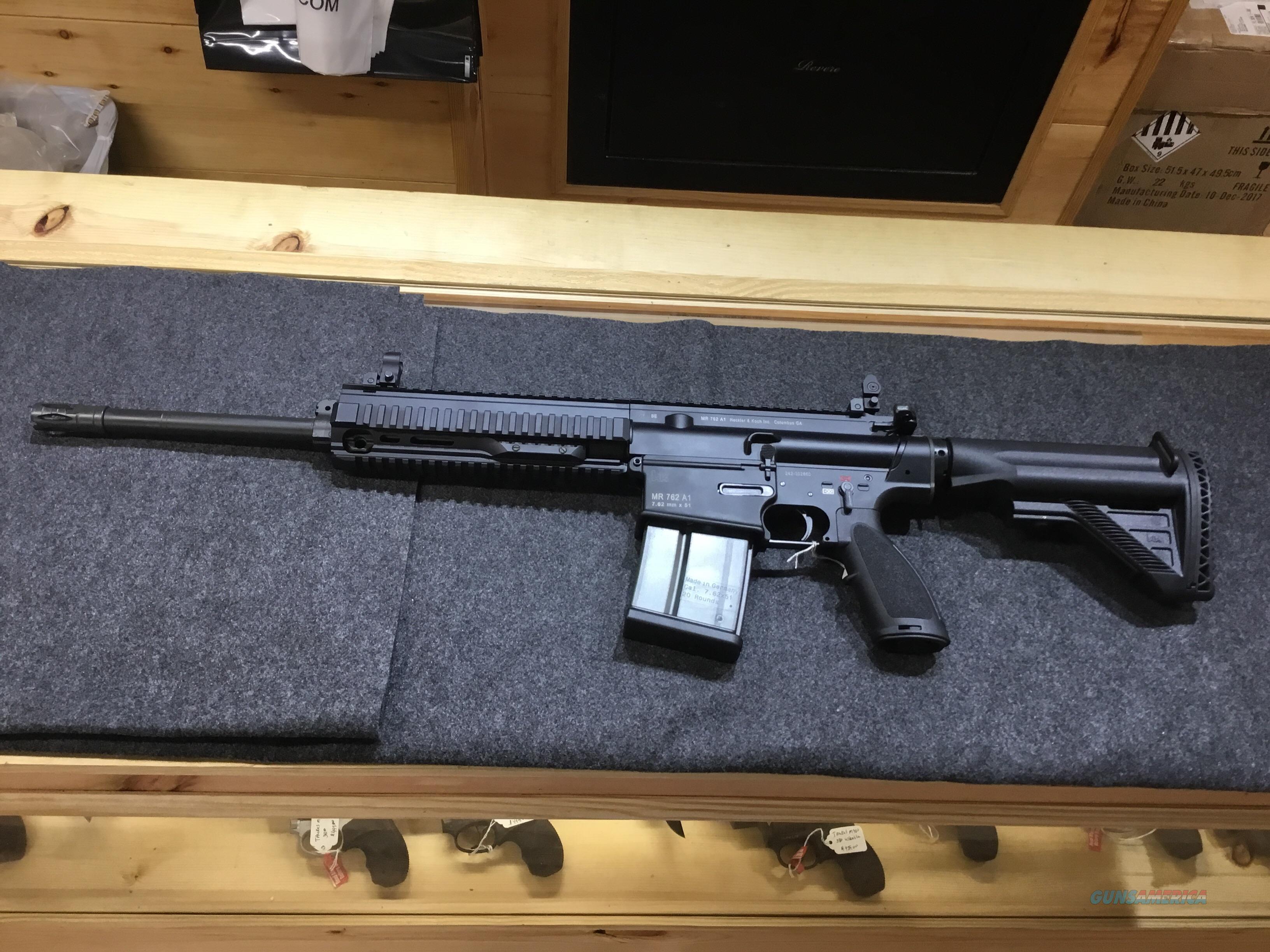 H&K MR 7.62 A1  Guns > Rifles > Heckler & Koch Rifles > Tactical