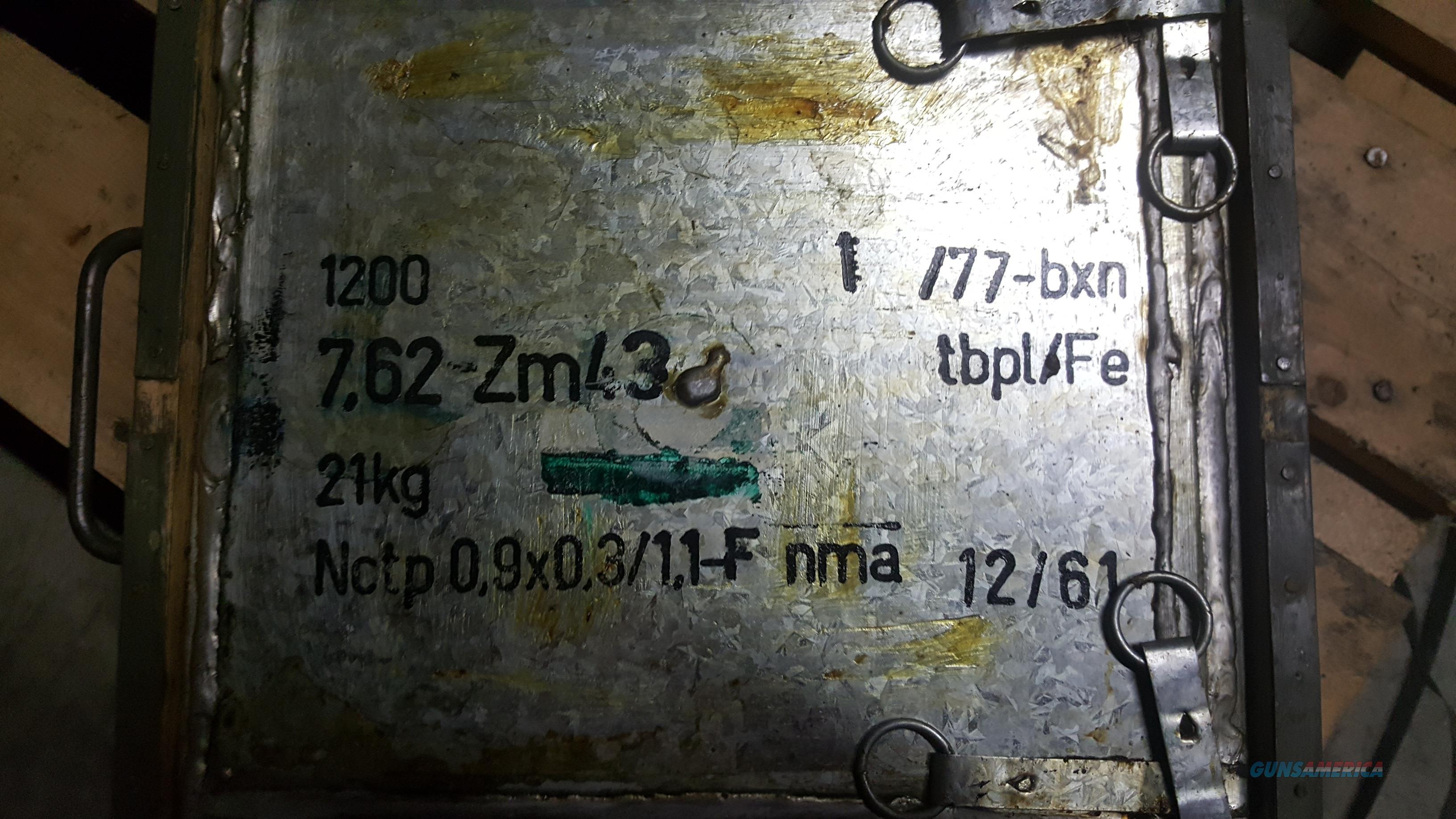 7.62 x 39 spotter tracer rounds ! Zm43   Non-Guns > Ammunition