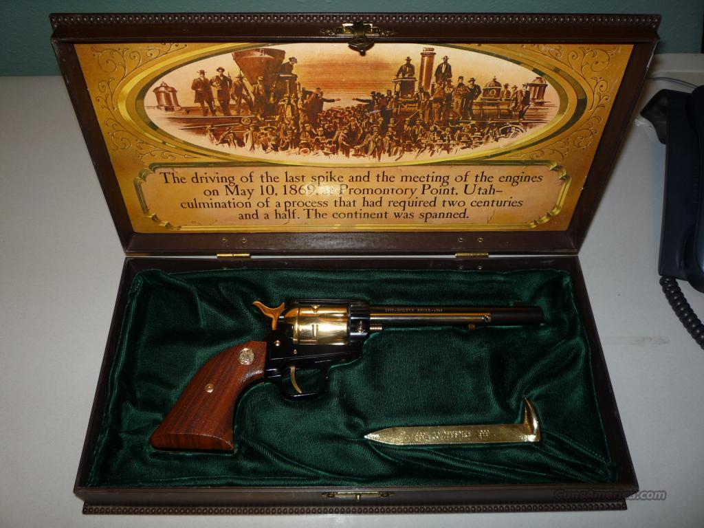 Colt Frontier Scout Single Action - Golden Spike Commemorative  Guns > Pistols > Colt Single Action Revolvers - Modern (22 Cal.)