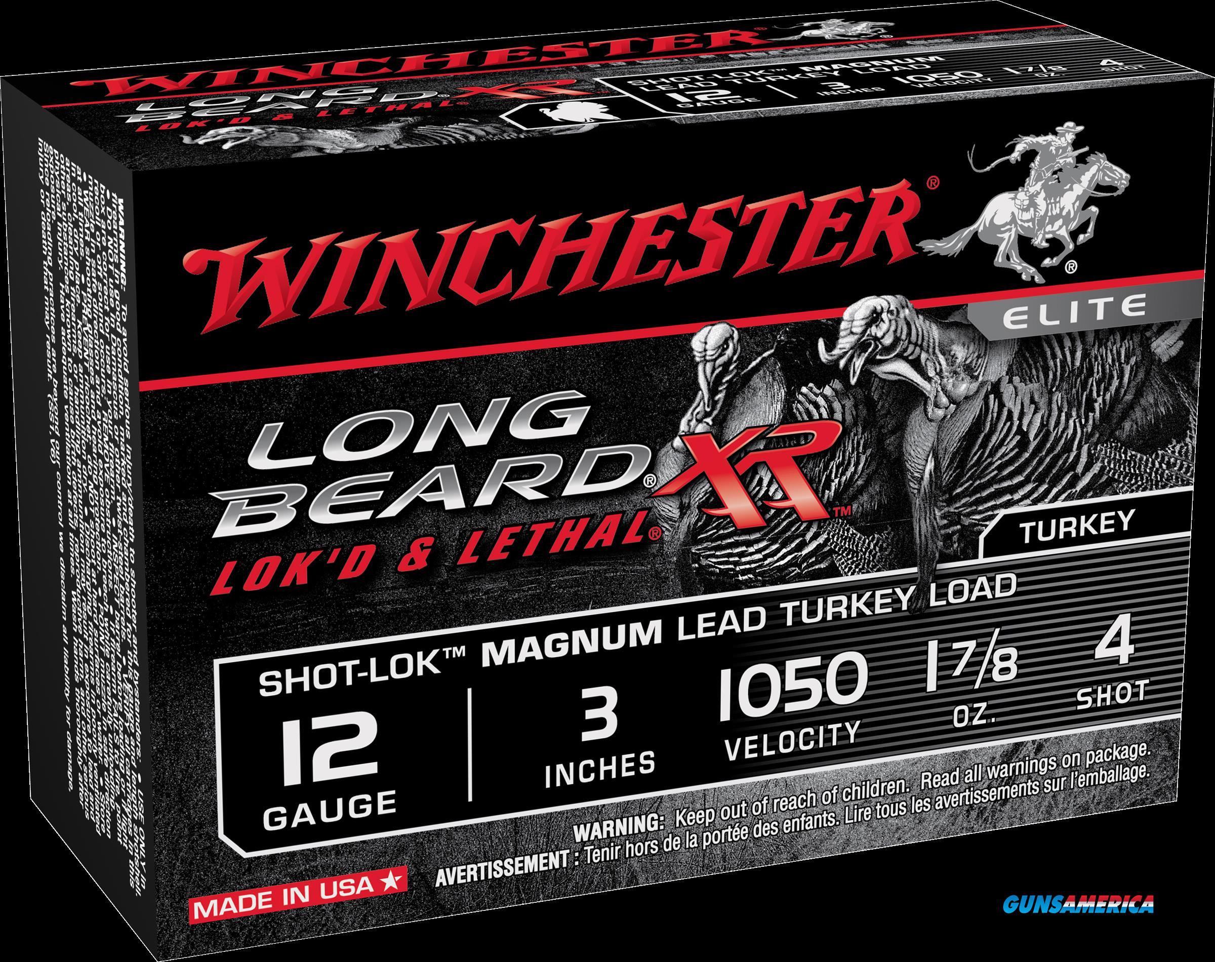 Winchester Ammo Long Beard Xr, Win Stlb123m4 Longbeard 3in 17-8  10-10  Guns > Pistols > 1911 Pistol Copies (non-Colt)