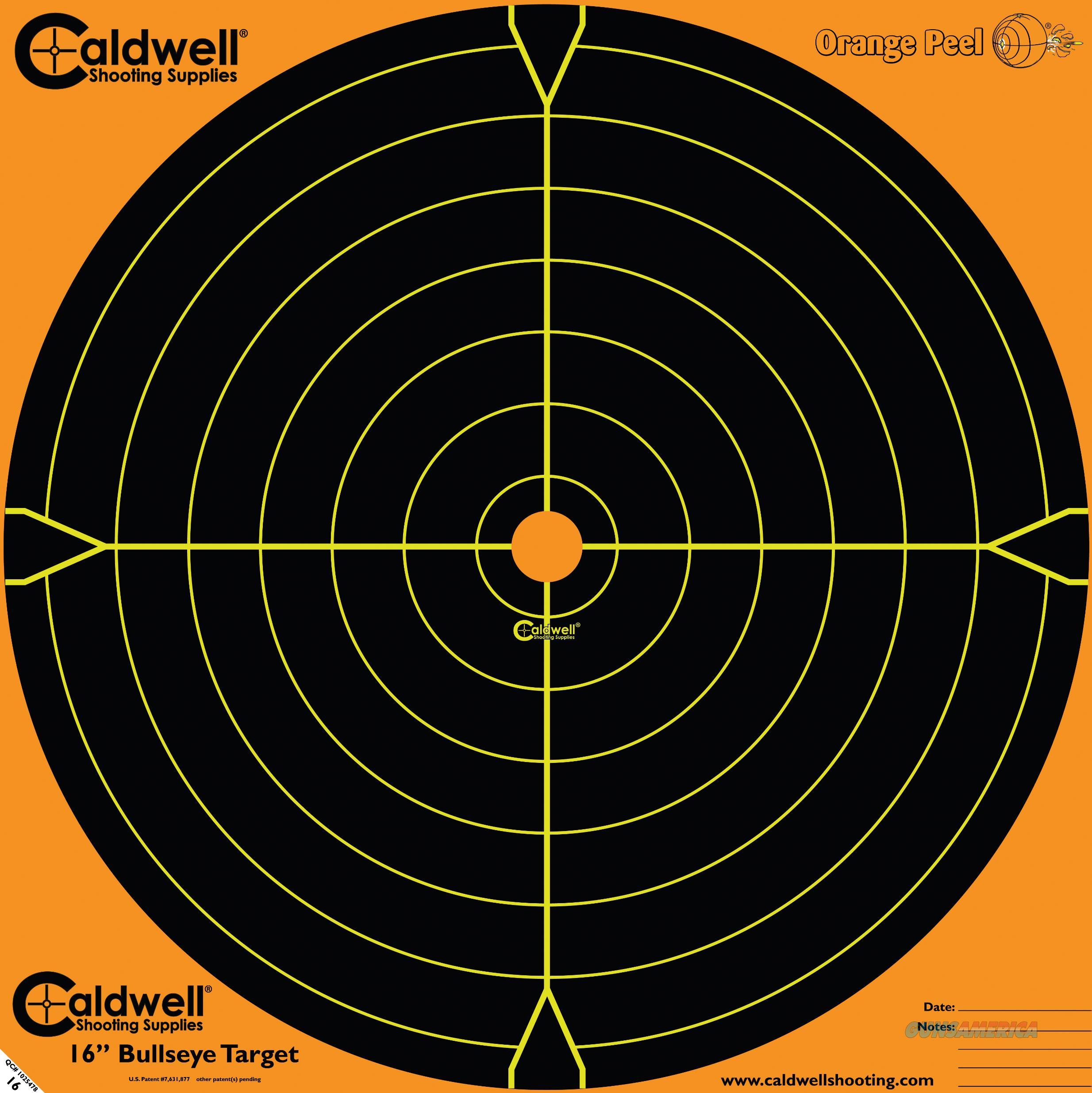 Caldwell Orange Peel, Cald 495253  16in Op Sight-in Trgt 5pk  Guns > Pistols > 1911 Pistol Copies (non-Colt)