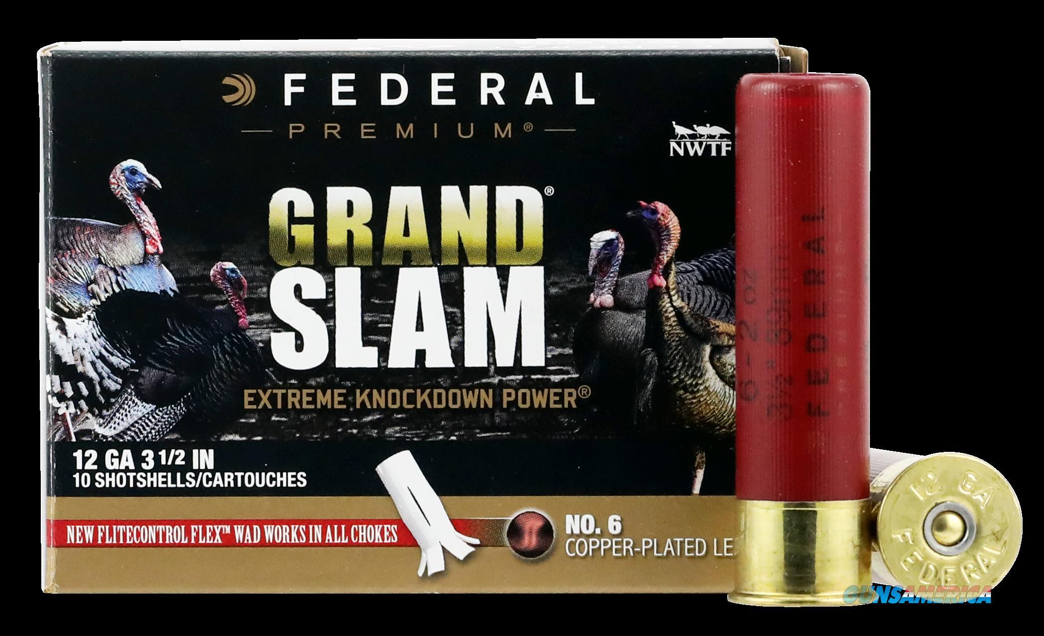 Federal Premium, Fed Pfcx139f6 Grslam  12 3.5 2oz         10-5  Tky  Guns > Pistols > 1911 Pistol Copies (non-Colt)