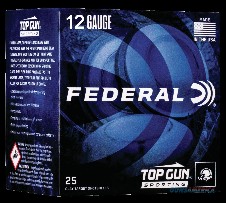Federal Top Gun, Fed Tgs12875  Top Gun 12 2.75 1oz         25-10  Guns > Pistols > 1911 Pistol Copies (non-Colt)