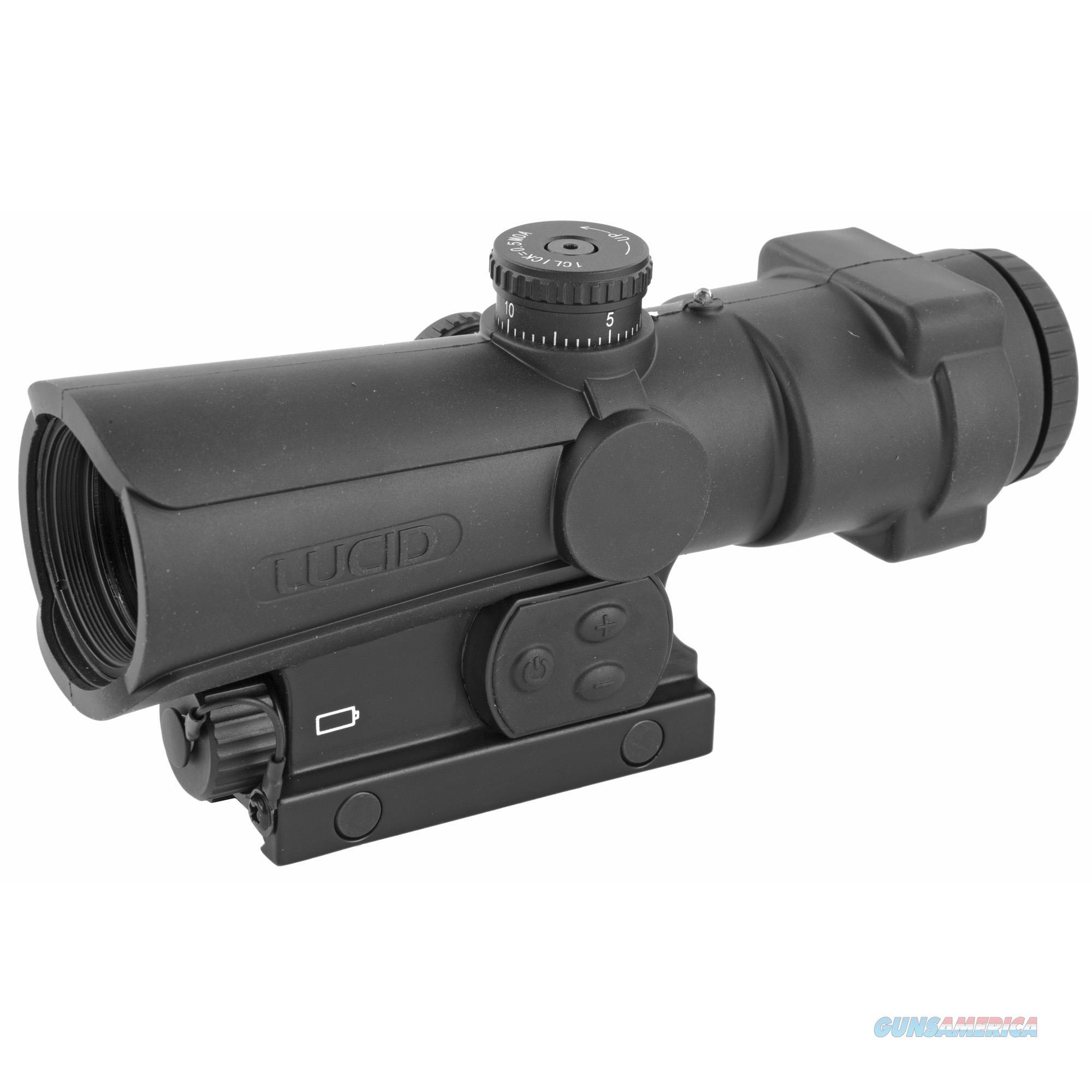 Lucid Optics 4x Prismatic - Weapons Sight P7 Illu Red-blue  Guns > Pistols > 1911 Pistol Copies (non-Colt)