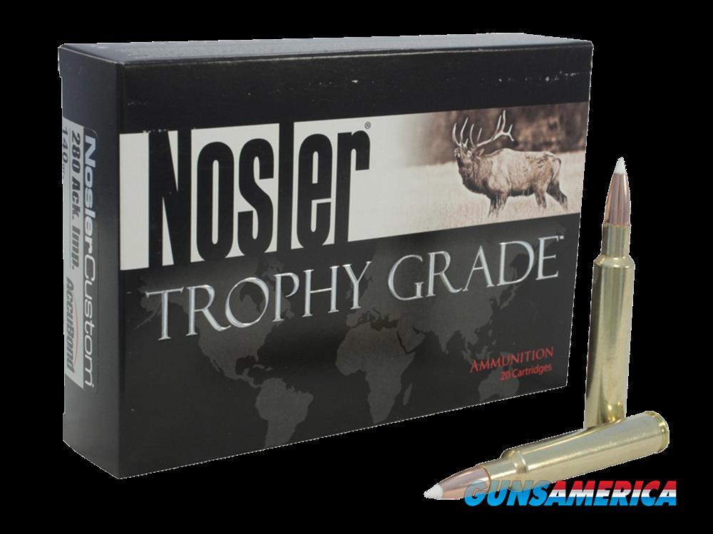 Nosler Trophy Grade, Nos 60125    270win       150 Ablr Trophy    20-10  Guns > Pistols > 1911 Pistol Copies (non-Colt)