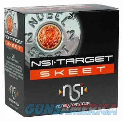 Nobelsport Ammo 12ga. 2.75 - 1145fps. 1-1-8oz. #9 25-pack  Guns > Pistols > 1911 Pistol Copies (non-Colt)
