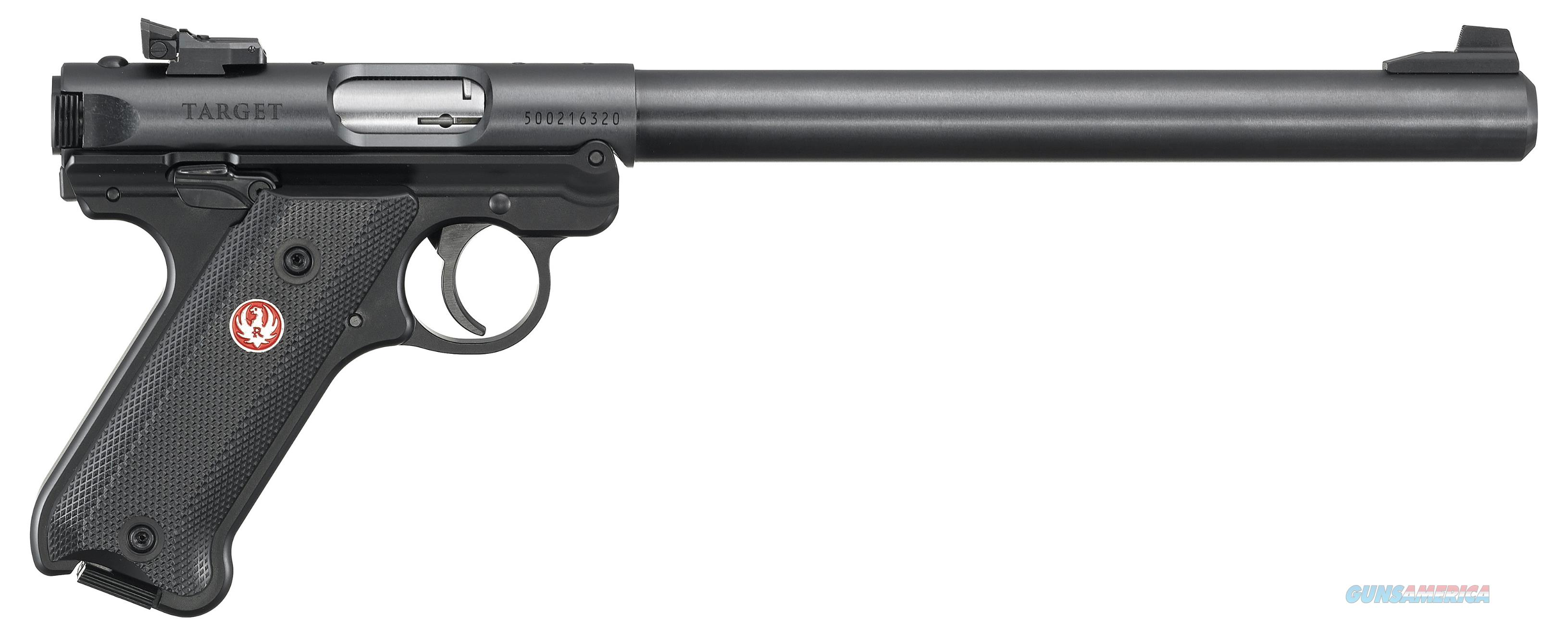 Ruger Mark Iv, Rug 40173 Mkiv  22lr Target  10in Bull As 10r Bl  Guns > Pistols > 1911 Pistol Copies (non-Colt)