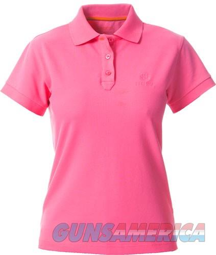 Beretta Women's Corporate Polo - Hot Pink Large W-trident Logo<  Guns > Pistols > 1911 Pistol Copies (non-Colt)