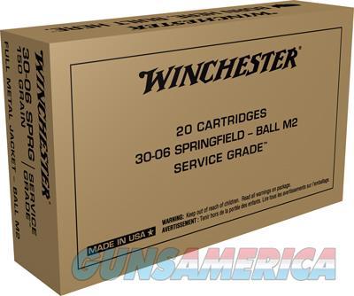 Winchester Ammo Service Grade, Win Sg3006w   3006 150               20-10  Srvgrd  Guns > Pistols > 1911 Pistol Copies (non-Colt)