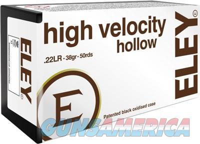 Eley High Velocity Hollow - Point 22lr 38gr. 50 Pack  Guns > Pistols > 1911 Pistol Copies (non-Colt)
